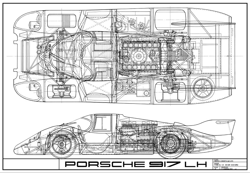 Dorable Blueprint Of Cars Image - Everything You Need to Know About ...