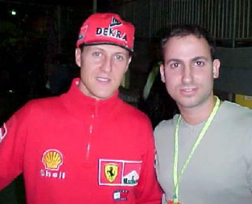 Michael Schumacher & Morry