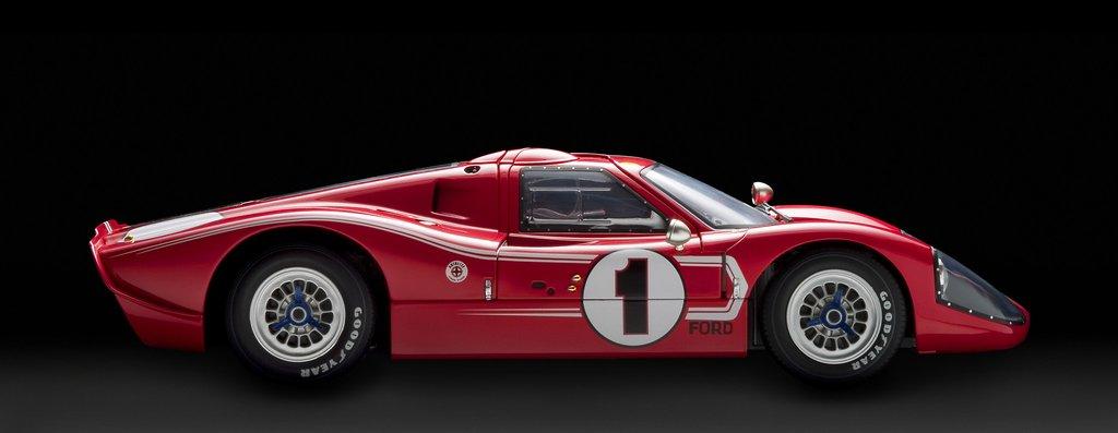 Can Am Car >> Collector Studio - Fine Automotive Memorabilia - 1/12 1967 Ford GT40 Mk IV