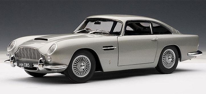 Collector Studio Fine Automotive Memorabilia 1 18 1965 Aston Martin Db5 In Silver Birch