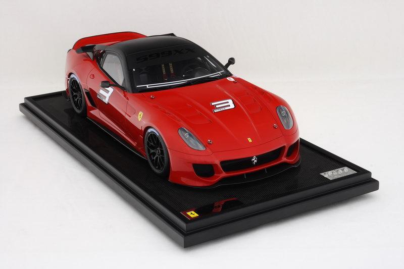 Collector Studio - Fine Automotive Memorabilia - 1/8 2012 Ferrari 599XX / 599XX Evo