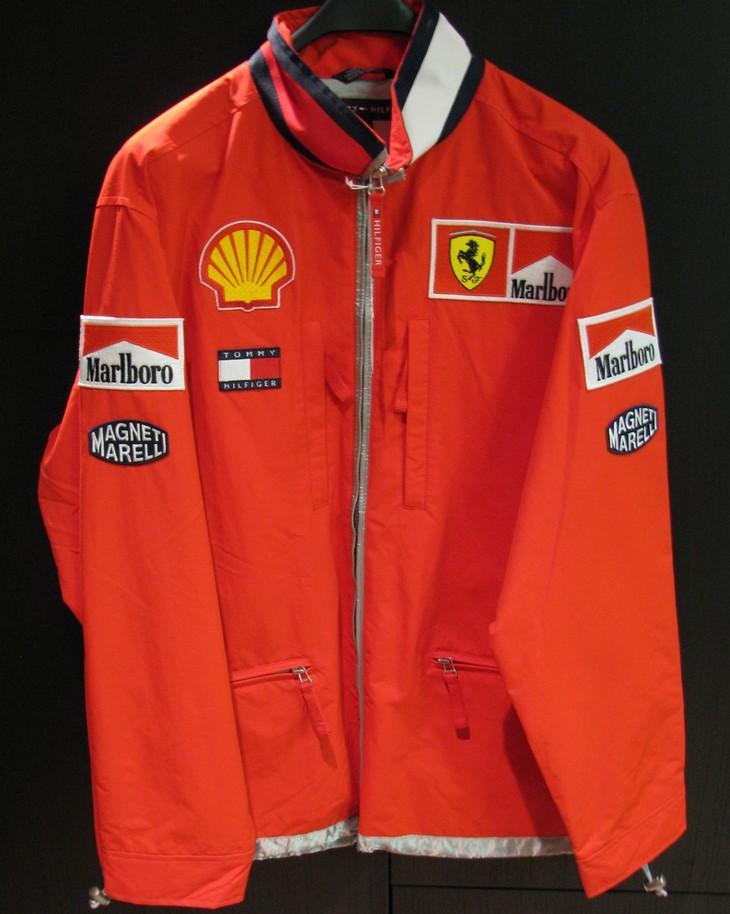 Collector Studio Fine Automotive Memorabilia 2001 Ferrari Marlboro Tommy Hilfiger Spring Jacket